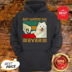 Official Best Samoyed Dad Ever Vintage Hoodie