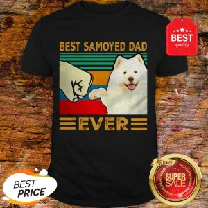 Official Best Samoyed Dad Ever Vintage Shirt