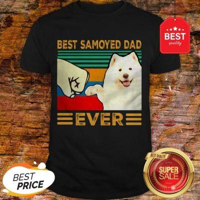 Official Best Samoyed Dad Ever Vintage Shirt