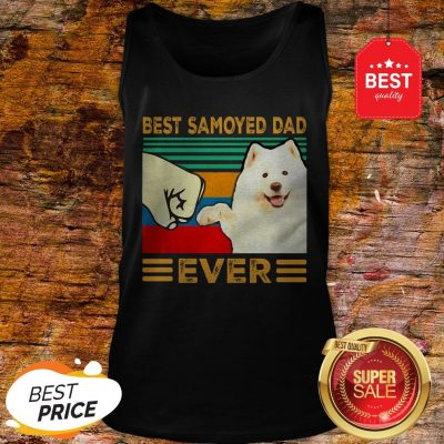 Official Best Samoyed Dad Ever Vintage Tank Top