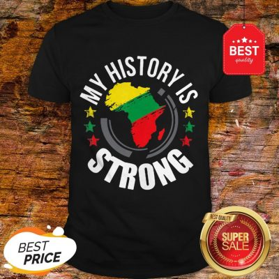Official Black History Month African Map Colors Shirt