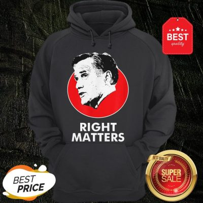 Official Mitt Romney Right Matters Hoodie