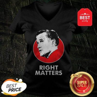 Official Mitt Romney Right Matters V-neck