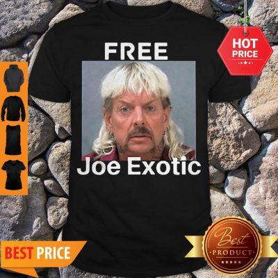 Free Joe Exotic Tiger King Innocent Tee Shirt