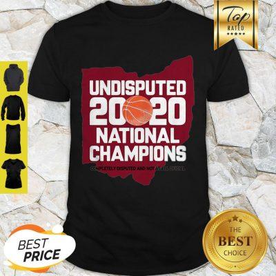 Undisputed 2020 National Champions Shirt