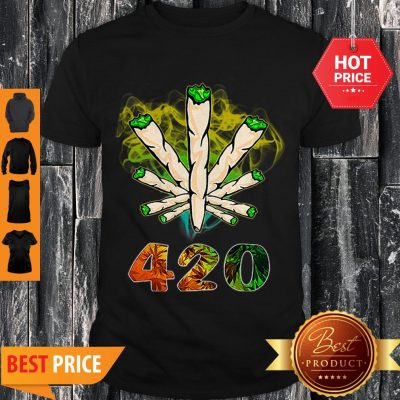 Official Cannabis Weed 420 Shirt