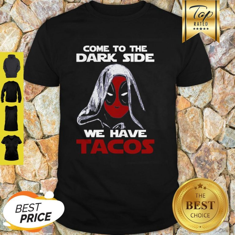 Star Wars Deadpool Come To The Dark Side Shirt