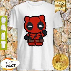 Hi Yukio Marvel Deadpool Hello Kitty Shirt