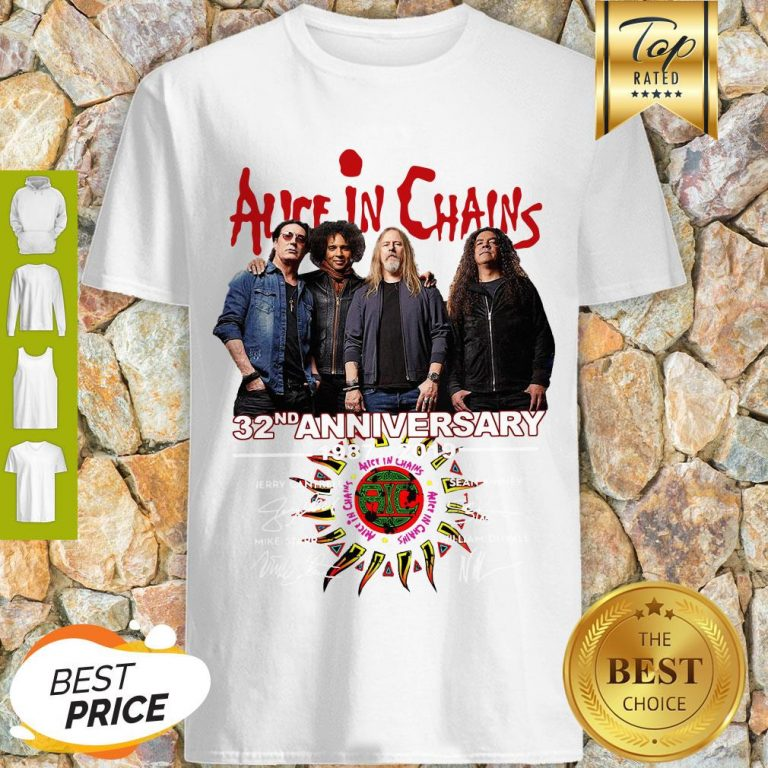 Alice In Chains 32nd Anniversary 1987 2019 Signature Shirt