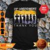 19th Amendment 100 Years Thank You 1920 Victory Flag Shirt