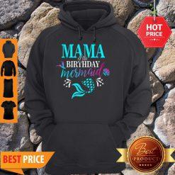 Beautiful Mama Of The Birthday Mermaid Matching Family Hoodie