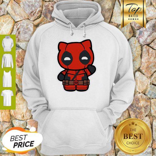 Hi Yukio Marvel Deadpool Hello Kitty Hoodie