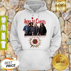 Alice In Chains 32nd Anniversary 1987 2019 Signature Hoodie