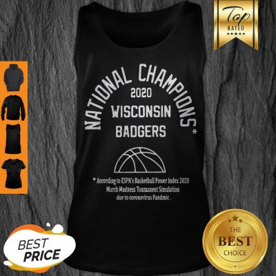 2020 Simulated National Champs Tank Top