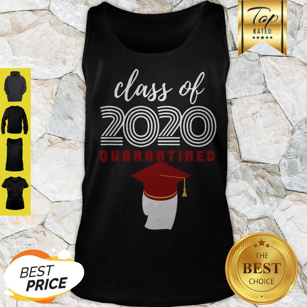 Covid-19 Class Of 2020 Quarantined Tank Top