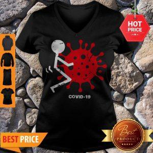 Official Corona Killer People Covid 19 V-neck