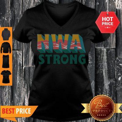 Northwest Arkansas Food Bank NWA Strong V-neck