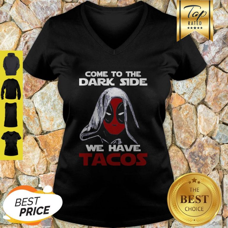 Star Wars Deadpool Come To The Dark Side V-neck