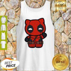 Hi Yukio Marvel Deadpool Hello Kitty Tank Top