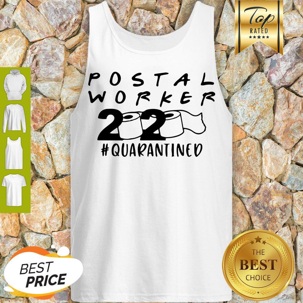 Postal Worker 2020 Quarantined Tank Top