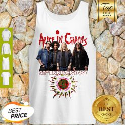 Alice In Chains 32nd Anniversary 1987 2019 Signature Tank Top