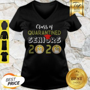 Covid-19 Class Of Quarantined Seniors 2020 V-neck