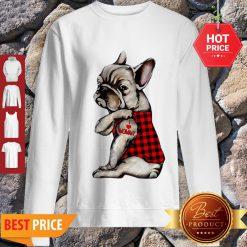 French Bulldog Tattoo I Love Mommy Animal Lover Sweatshirt