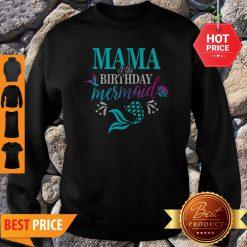 Beautiful Mama Of The Birthday Mermaid Matching Family Sweatshirt