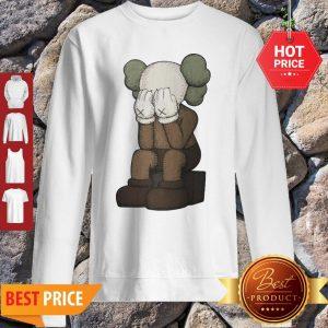 KAWS Feeling Sad Crying KAWS Sweatshirt