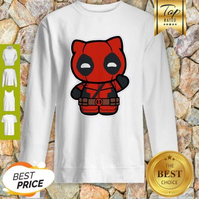 Hi Yukio Marvel Deadpool Hello Kitty Sweatshirt
