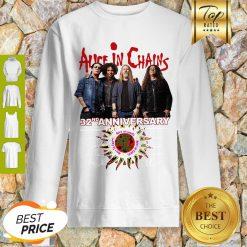 Alice In Chains 32nd Anniversary 1987 2019 Signature Sweatshirt