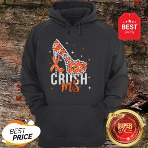 High Heels Multiple Sclerosis Awareness Crush Ms Hoodie