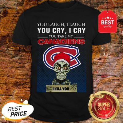 Jeff Dunham You Laugh I Laugh You Cry Montreal Canadiens Logo Shirt