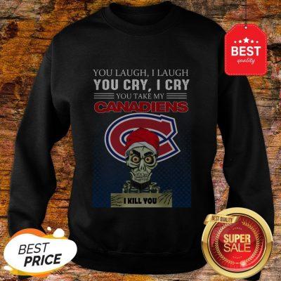 Jeff Dunham You Laugh I Laugh You Cry Montreal Canadiens Logo Sweatshirt