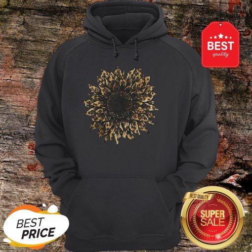Nice New Style Sunflower Leopard Hoodie