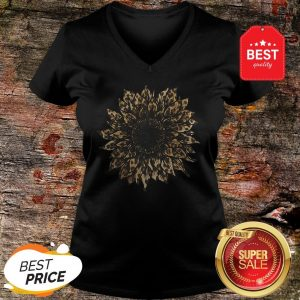 Nice New Style Sunflower Leopard V-neck