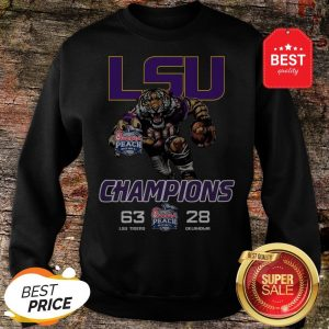 Nice lsu Tigers Championship Chick Fil A Oklahoma Sweatshirt
