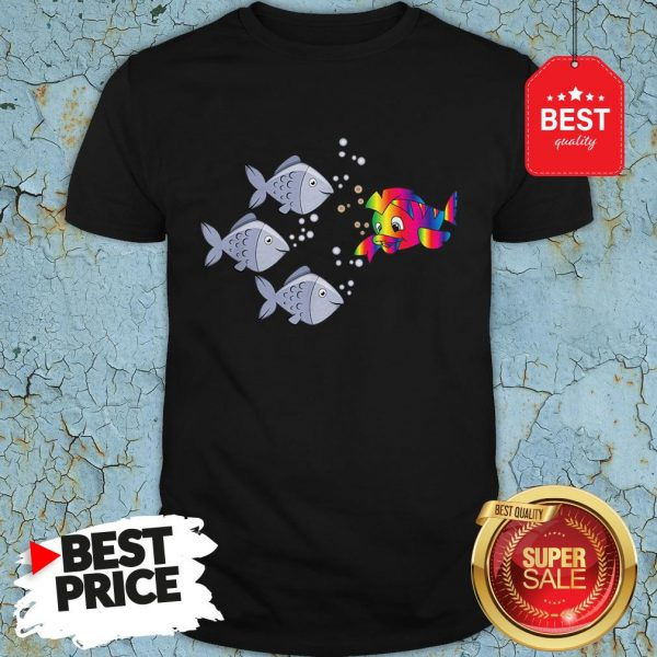 Official Autism Awareness Stand Out Fish Shirt