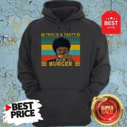 Vintage Pulp Fiction This Is A Tasty Burger Samuel L. Jackson Hoodie