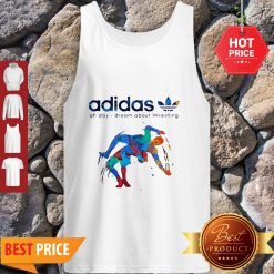 Adidas All Day I Dream About Wrestling Colors Tank Top