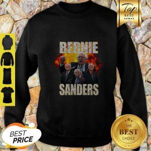 Bernie Sanders Suffered Heart Attack Fire Sweatshirt