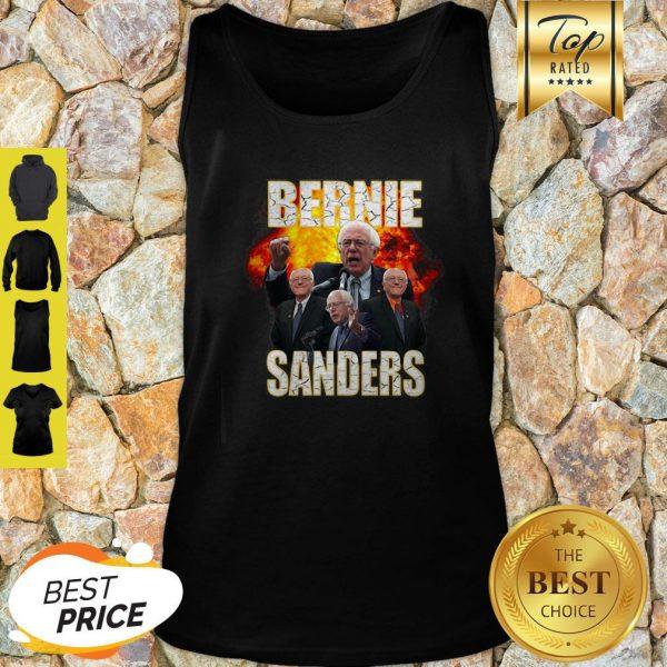 Bernie Sanders Suffered Heart Attack Fire Tank Top
