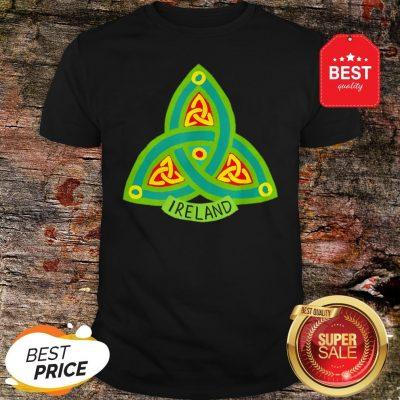Ireland Saint Patrick's Day Celtic Shamrock Green T-Shirt
