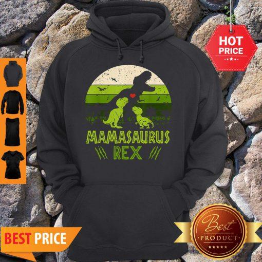 Mamasaurus T-Rex Dinosaur Mother Day Hoodie