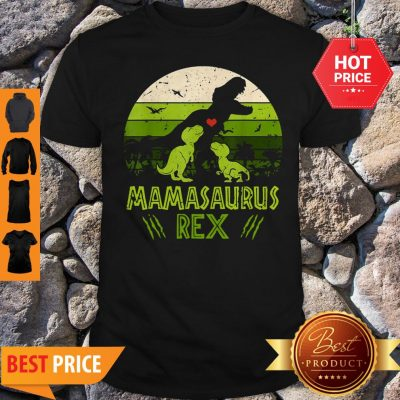 Mamasaurus T-Rex Dinosaur Mother Day Shirt