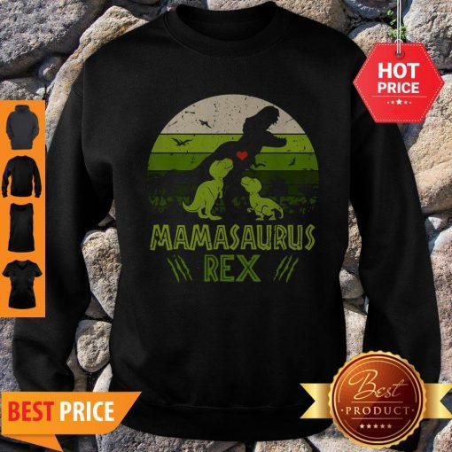 Mamasaurus T-Rex Dinosaur Mother Day Sweatshirt