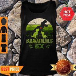 Mamasaurus T-Rex Dinosaur Mother Day Tank Top