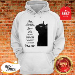 Official I'm Your Friend Your Partner Your Black Cat Hoodie
