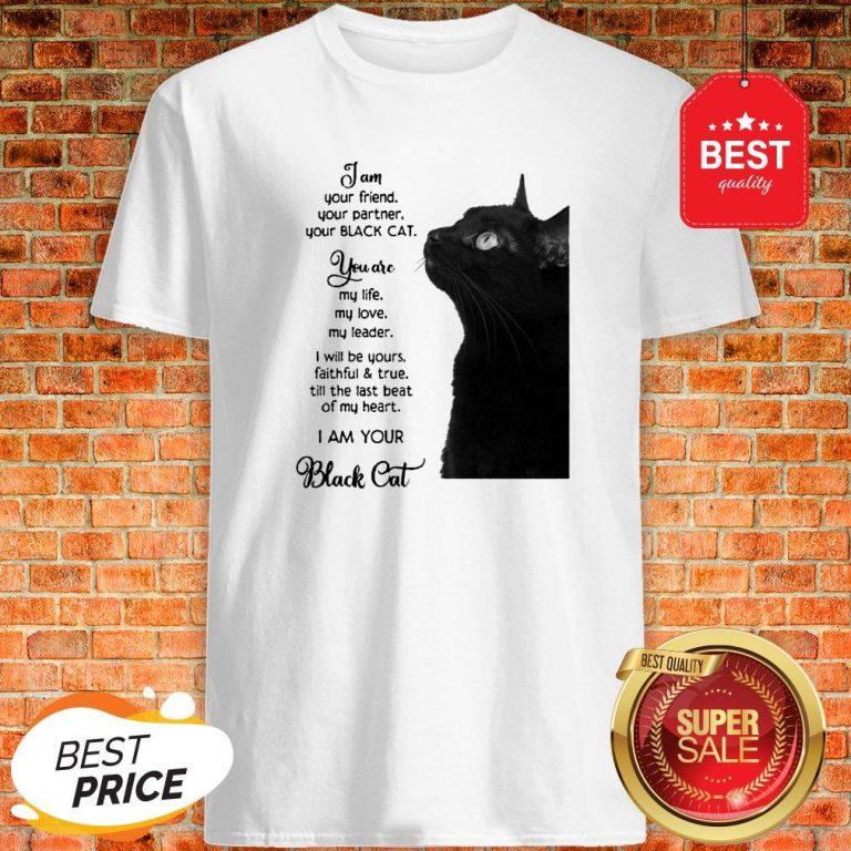 Official I'm Your Friend Your Partner Your Black Cat Shirt