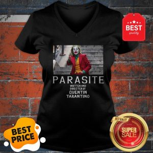 Official Joker Parasite Written And Directed By Quentin Tarantino V-neck